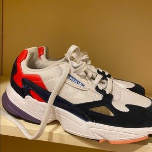 NWOT ADIDAS falcon sneakers new never worn size 9